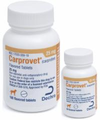 Carprovet<sup>®</sup> (carprofen) Flavored Tablets 25 mg