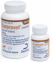 Carprovet<sup>®</sup> (carprofen) Flavored Tablets 100 mg