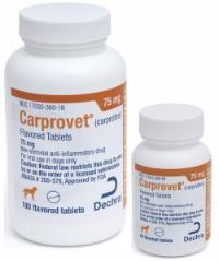 Carprovet<sup>®</sup> (carprofen) Flavored Tablets 75 mg