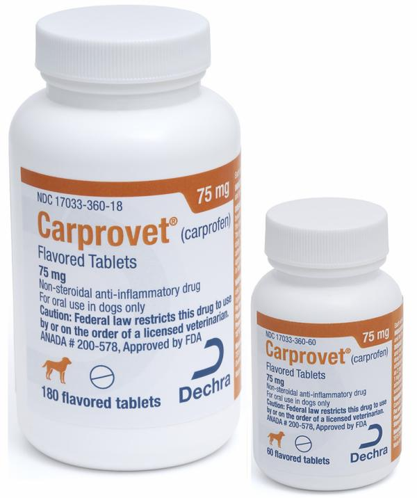 Carprovet® (carprofen) Flavored Tablets 75 mg