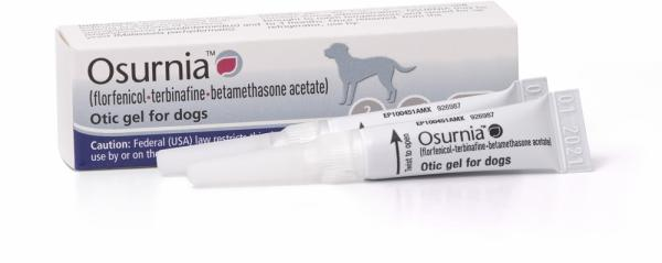 OSURNIA® (florfenicol-terbinafine-betamethasone acetate) Otic gel for dogs