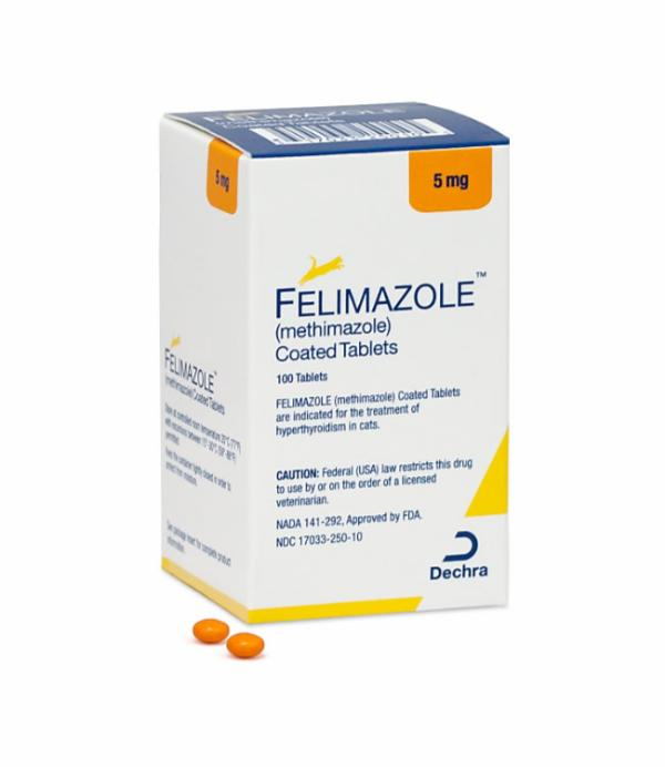 Felimazole® (methimazole) Coated Tablets 5mg
