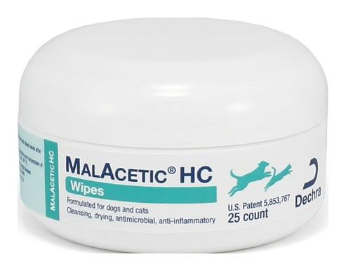 MalAcetic® HC Wipes