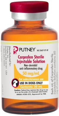Carprofen Sterile Injection Solution 50 mg/mL