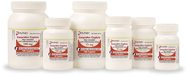 Carprofen Caplets 75 mg