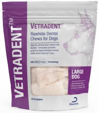 Vetradent™ Rawhide Dental Chews for Dogs (Large)